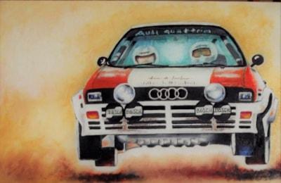 Audi Quattro in action