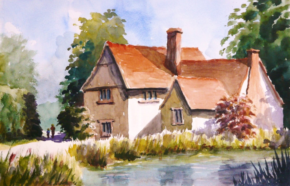 Willy Lott's Cottage, Flatford Mill