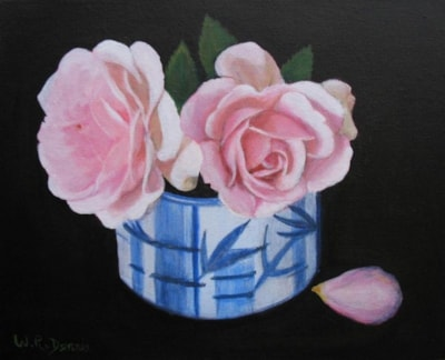 Japanese Cup and Roses