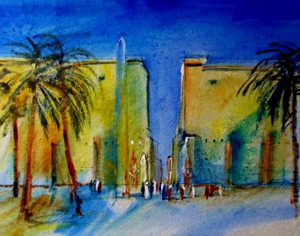 Luxor Temple.