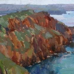 Pwll Deri Cliffs