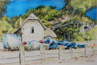 Fisherman's Cottage Shanklin Chine