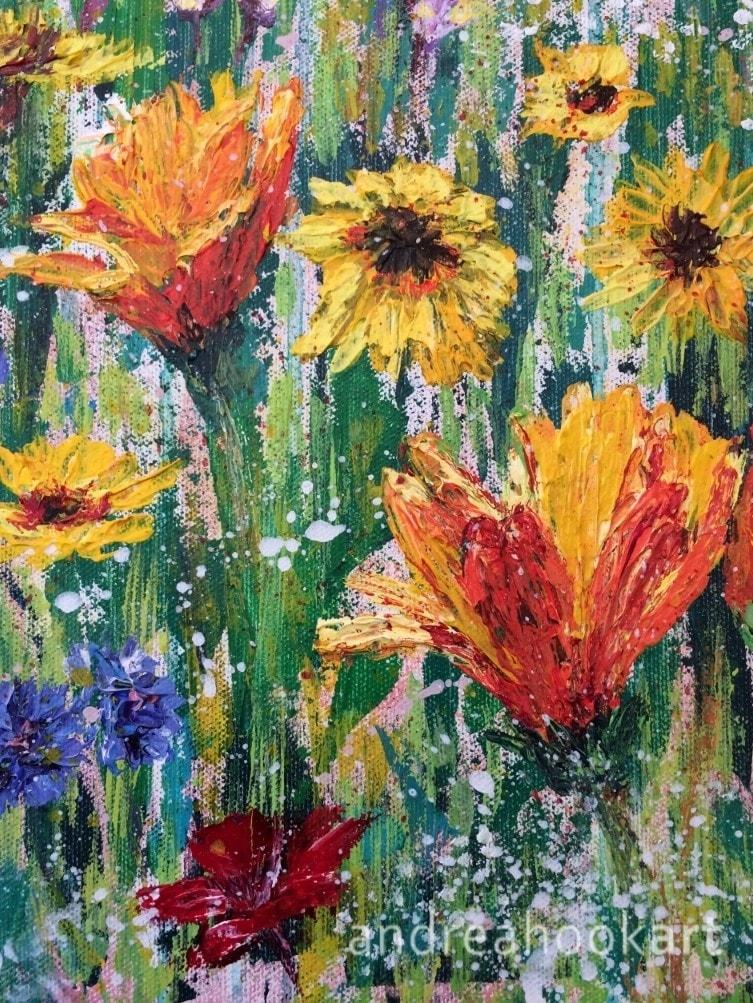 Wildflowers, Hatch Pond - detail