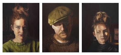 'Family' (Triptych) 2014-15