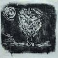 Little Owl - Monoprint