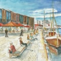 Bergen Fish market & Harbour Norway