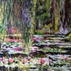 Monets Lily Pond