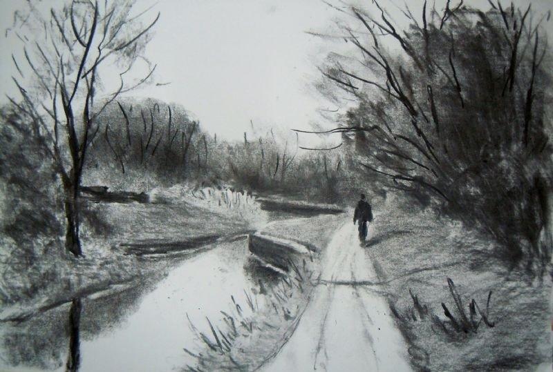 Winter stroll, daisy Nook