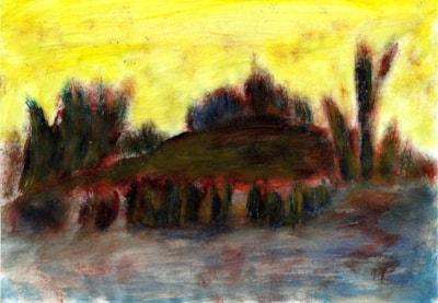 Fantasy - yellow sunset