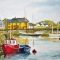 Kinvarra Harbour, County Galway