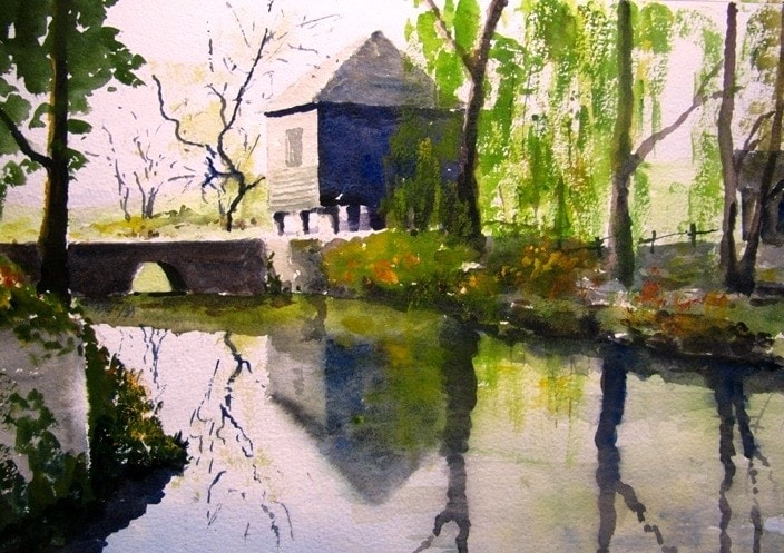 Reflections on the River Mole