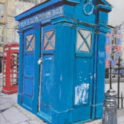 Edinburgh Police Phone Box
