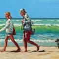 Summer strolling