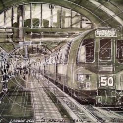 A special train, Paddington St., London