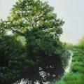 Shadowing Infinity 25 x 30cm acrylic on box canvas