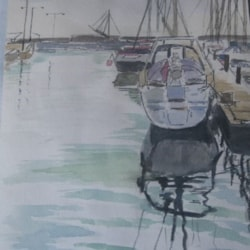 Anstruther Harbour Sketch