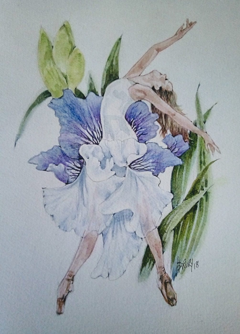 """The Iris and the Dancer"""