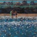 surfing seaside hayle cornwall .. SOLD