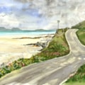 The Road around Traigh Mhor, Barra