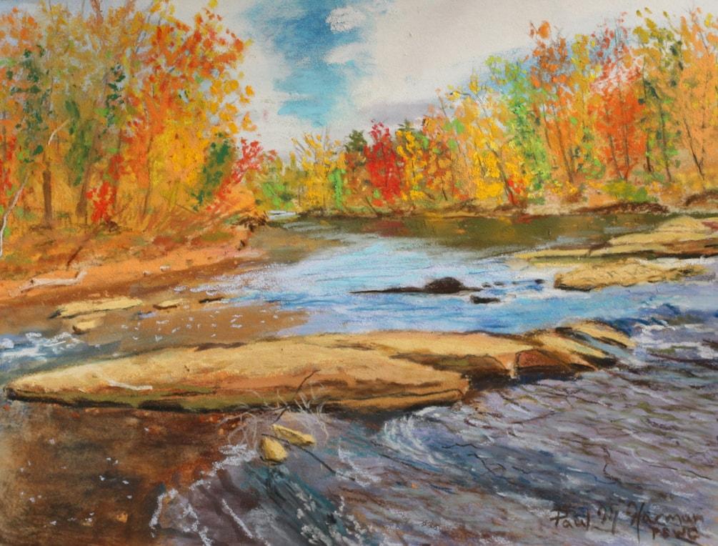 Fall on the Chattahoochee