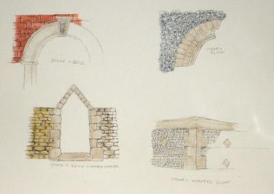 BUILDING IN LANDSCAPE.  part 3