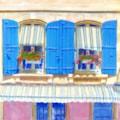 Blue Shutters, Arles
