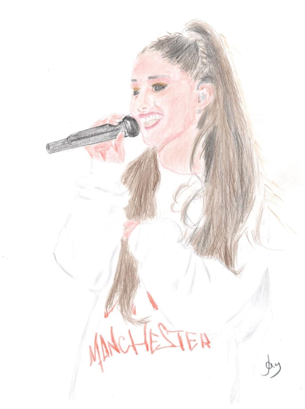 Ariana Grande (Mrs Manchester)