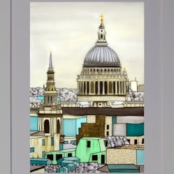 Across the Rooftops to St Paul's