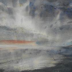 Silver light over Bridlington Bay