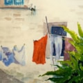 Washday in Aquitaine - Michael Trask