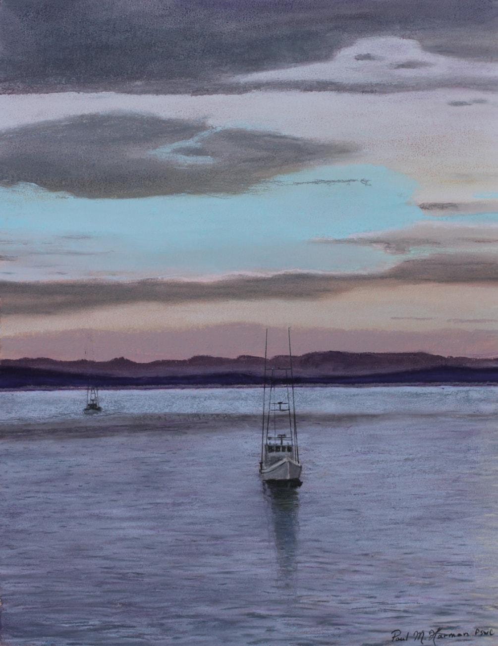 Sundown on Avila Bay