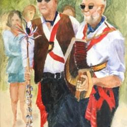 Folk Dance Musicians