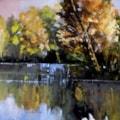 Panorama autunnale(autumn landscape) cm 60x70 oil on canvas