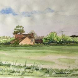 Farm house near Barney in Norfolk