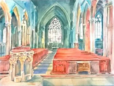 Heckington church