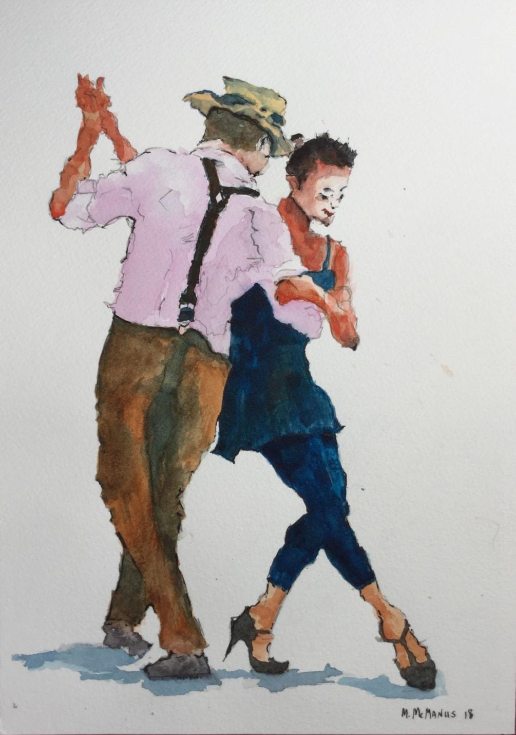 'The Dancemaster'.