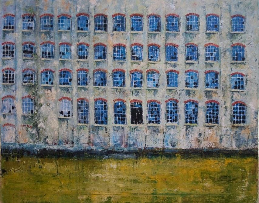 Rank Hovis warehouse on the Royal Victoria dock