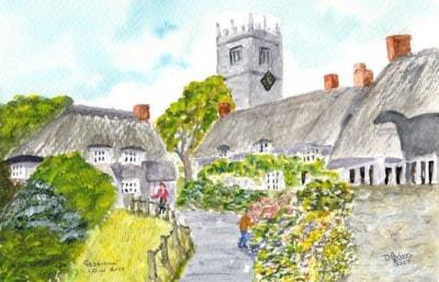 Godshill, Isle of Wight, Hampshire