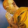 Praying Monk