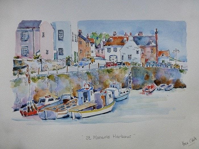 St Monan's Harbour