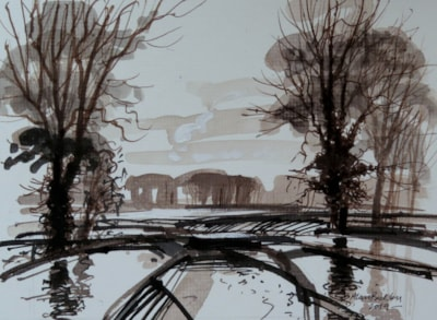 Floods – Monochrome challenge.