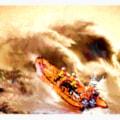 RNLI Inshore Lifeboat Blackpool