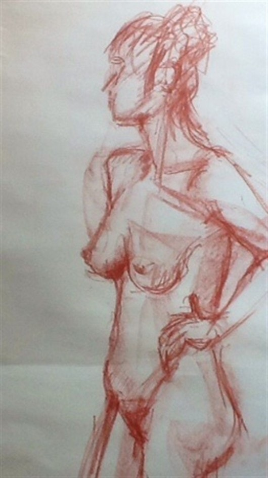 There was a young artist from Bude  Who was extremely fond of the Nude Her neighbours were shocked  To find her unfrocked With paintings that they thought were Rude .