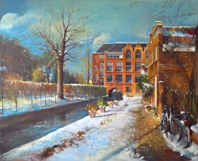Winter in Leiden