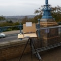 Plein air setup ar Ally Pally