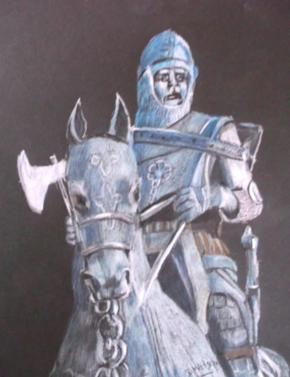 King Robert The Bruce Statue at Bannockburn