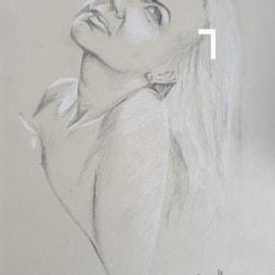 A4 toned paper Nataliya portrait
