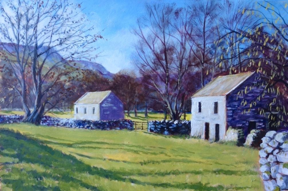 Barns near West Burton