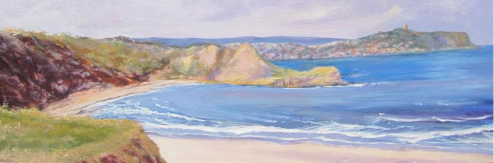 Cayton Bay - view to Scarborough