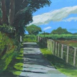 On the lane, Caerwys
